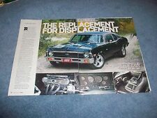 """1972 Chevy Nova RestoMod Article """"The Replacement for Displacement"""""""