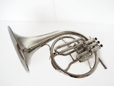 NEW SPECIAL STUDENTS MELLOPHONE_FRENCHHORN:BB/F^PITCH^CHROME FINISH W/CASE&M/P