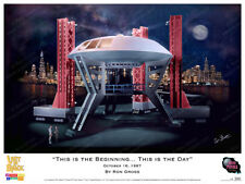 """Lost In Space - """"This is the Beginning. This is the Day"""" Print - Ron Gross"""