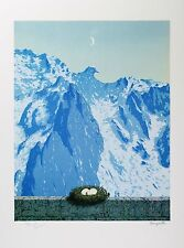 René Magritte - The Domain of Arnheim (signed & numbered lithograph)