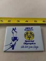 Vintage Help Support The Special Olympics pin button pinback *EE77