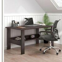 "39"" Computer Espresso Style Writing Desk Modern Study Office Desk Corner Table"