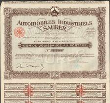 AUTOMOBILES INDUSTRIELS SAURER (SURESNES 92) (I)
