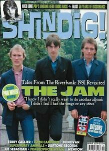 SHINDIG MAGAZINE ISSUE 119 (THE JAM, NICK LOWE, DONOVAN, FAUST, TERRY CALLIER)