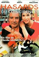 DVD Hasard ou Coïncidences Claude Lelouch NEUF