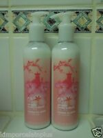 The Body Shop 2 Japanese Cherry Blossom LOTION  8.4 Fl Oz EACH