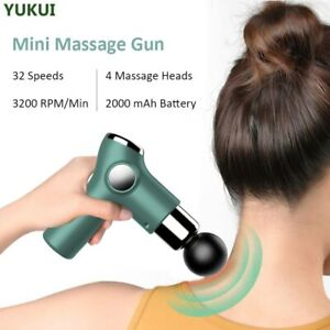 Mini Massage Gun Deep Tissue Percussion Massager For Pain Relief Portable Body