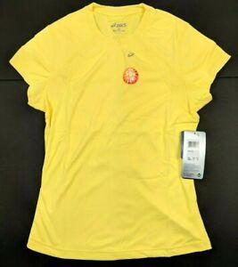 Asics Womens Favorite Short Sleeve Shirt UV Protection Size XS