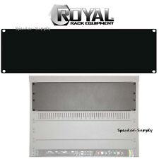 Royal Racks 3U Blank Rack Mountable Plate Panel Cover AV Rack Black ROY1228