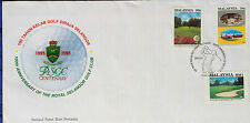 Malaysia FDC with stamps (24.06.1993) - 100th An. of Royal Selangor Golf Club