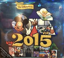 "Walt Disney World 2015 Mickey Mouse Scrapbook Scrap Book 12"" x 12"" Memory Book"