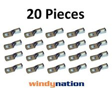 (20) 4/0 GAUGE AWG X 3/8 in TINNED COPPER LUG BATTERY CABLE CONNECTOR TERMINAL