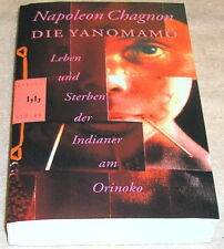 DIE YANOMAMO BY NAPOLEON CHAGNON IN GERMAN ANTHROPOLOGY IN AMAZON RIVER FOREST