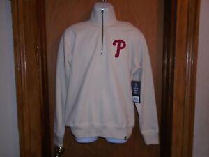 Philadelphia Phillies '47 Men's 1/4 Zip Cotton Pullover Sweatshirt Medium NWT