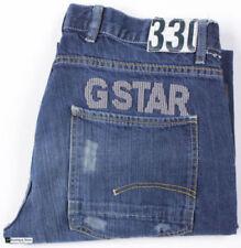 Vaqueros de hombre G-Star 100% algodón W34