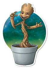Baby Groot in Plant Pot Wall Art Guardians of The Galaxy Vol. 2 Cardboard Cutout