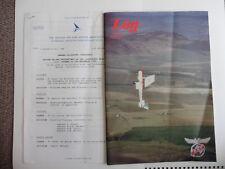 Log, British Airline Pilots Association Journal Dec. 1988 Plus AGM Letter