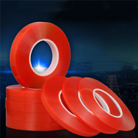 50M Adhesive Double Sided Tape Strong Sticky Tape Mobile Phone Repair 2-10mm