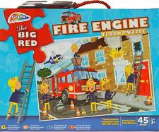 The Big Red Fire Engine 45 Piece Floor Jigsaw Puzzle