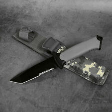 Survival Tactical Knife Military Fixed Blade Bowie Outdoor Camping Knives