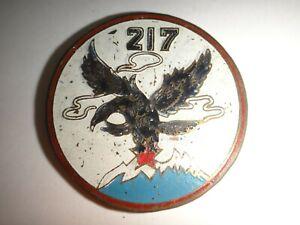 Arvn Air Force 217th Tactique Aile Vietnam Guerre Beercan Insignes