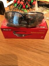 Snap On Safety Glasses Tinted Black NEW