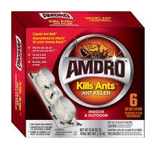 NEW! AMDRO Kills Ants Bait Station Ant Bait 6-Pack! 100099384