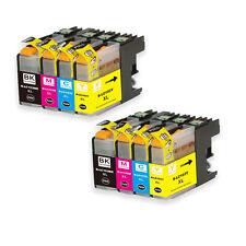 8 PK Printer Ink Set + chip fits Brother LC103 LC101 MFC J650DW J870DW J875DW
