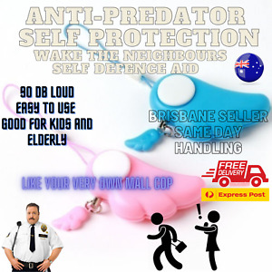 Anti predator/wolf self defence aid for women children 90DB loud//