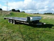 More details for ifor williams lm187 flatbed tri-axle trailer 18ft (price exc vat and delivery)