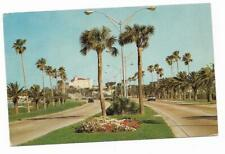 Vintage Florida Chrome Postcard Clearwater Memorial Causeway Skyline