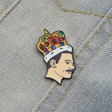 SALE! Freddie Mercury Queen Pin Badge. Ship Worldwide.
