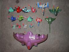 Gundam Wing SD Gaw + 15 micro mini figurines
