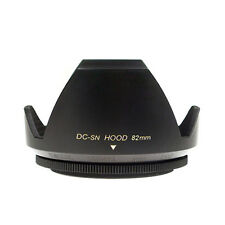Mennon DC-sn 82 Improved Screw Mount 82mm Flower Lens Hood, Black