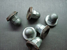 6pcs 1/4-20 zinc plated acorn PAL sealer nuts NORS for Chrysler Plymouth Dodge
