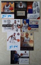 ISAIAH THOMAS HUGE 8 AUTOGRAPHED CARD LOT 6 ROOKIE AUTO