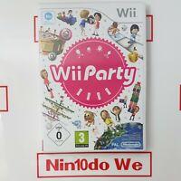 Wii Party - 80 mini-games (Nintendo Wii, 2010) - *PREMIUM REFURBISHED*