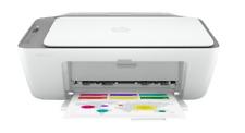 HP - DeskJet 2725 Wireless All-In-One Instant Ink Ready Inkjet Printer - White