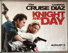 Cinema Poster: KNIGHT AND DAY 2010 (Main) Tom Cruise Cameron Diaz