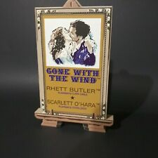 Shelia's 1998 Gone With The Wind Poster.