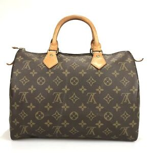 100% authentic Louis Vuitton Speedy 30 handbag M41526 Used 24-4-a@2