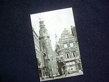 NICE OLD REAL PHOTO-PC: VLISSINGEN~ST. JACOBSTOREN~ANIMATED + OLD ADVERTISING