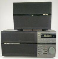 Vintage Radio Shack High Performance AM/FM Stereo Radio Alarm Clock 12-1596 GUC