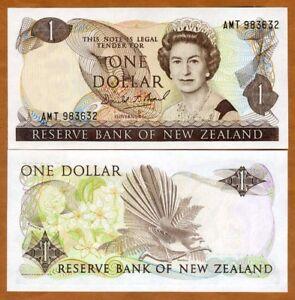 New Zealand, $1, ND (1989-1992), P-169c, QEII, UNC