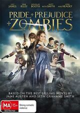 Pride & Prejudice & Zombies (Dvd) Action, Horror, Romance Lily James, Sam Riley
