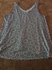 Ladies  Evans Top T Shirt Size 26-28