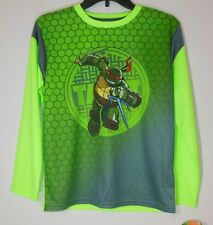 NINJA TURTLES * Boys Large 12/14 * Long Sleeve T-shirt NWT Tags Raphael TMNT