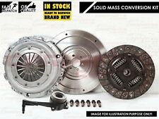 FOR AUDI TT 1.8 TURBO 20V 180 225 BHP AJQ APX SOLID MASS FLYWHEEL CLUTCH KIT