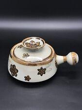 Ken Edwards Veracruz Tonala Jalisco Mexico Art Pottery Casserole Pot Dish Lid