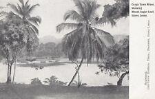 CONGO TOWN (Sierra Leone): River showing Sugar .- undivided back-LISK-CAREW BROS